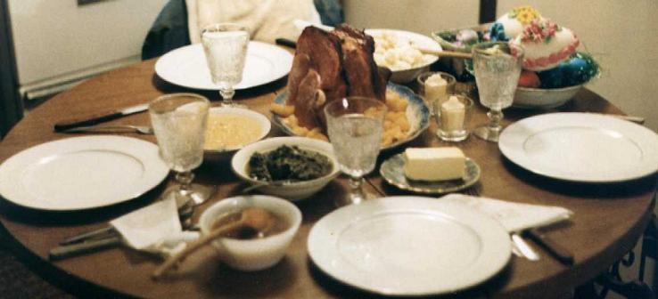 1983 Easter Dinner