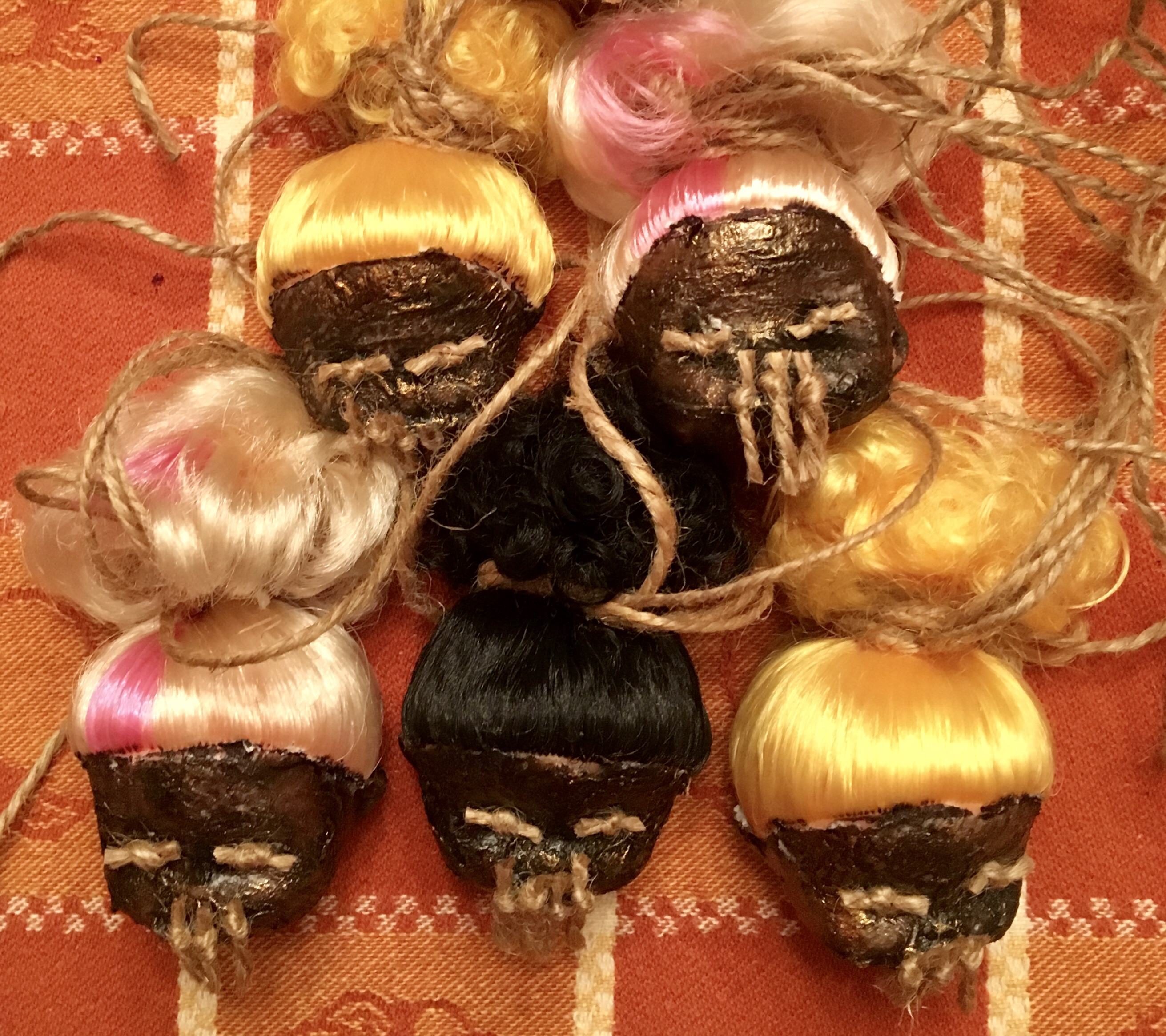 Shrunken Doll Heads