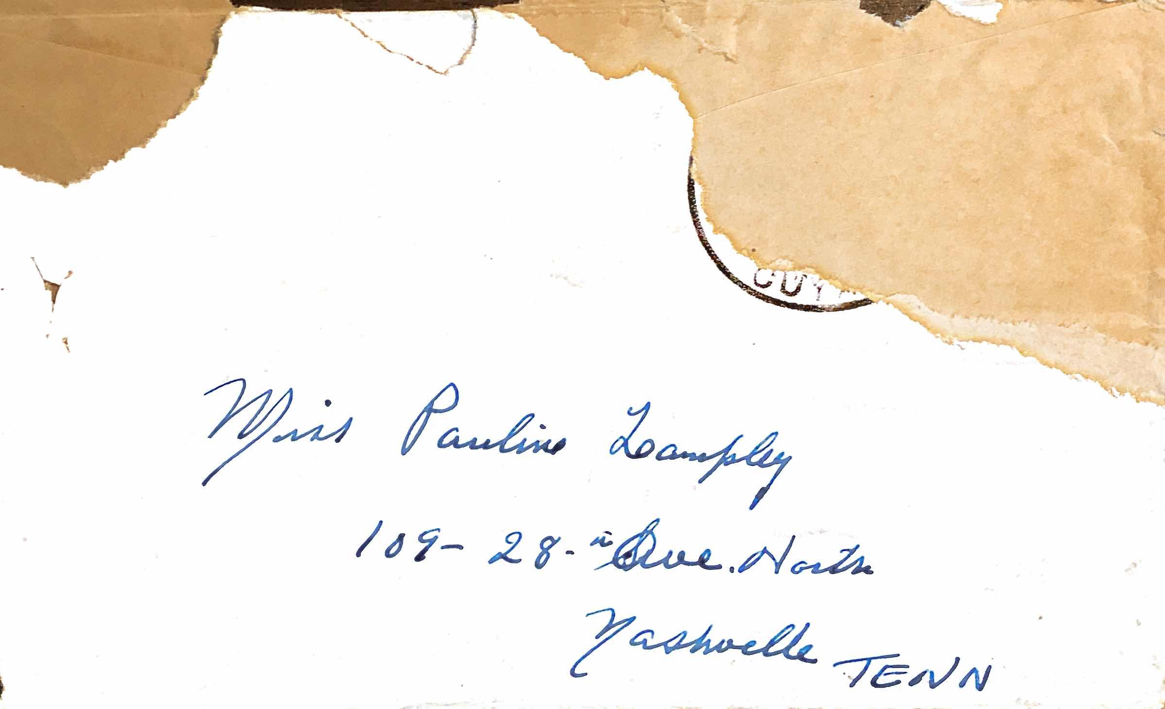 September 21, 1941 Dear Pauline