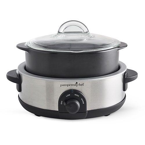 Rockcrok® 4-qt. Slow Cooker Set   Item Number: 3115