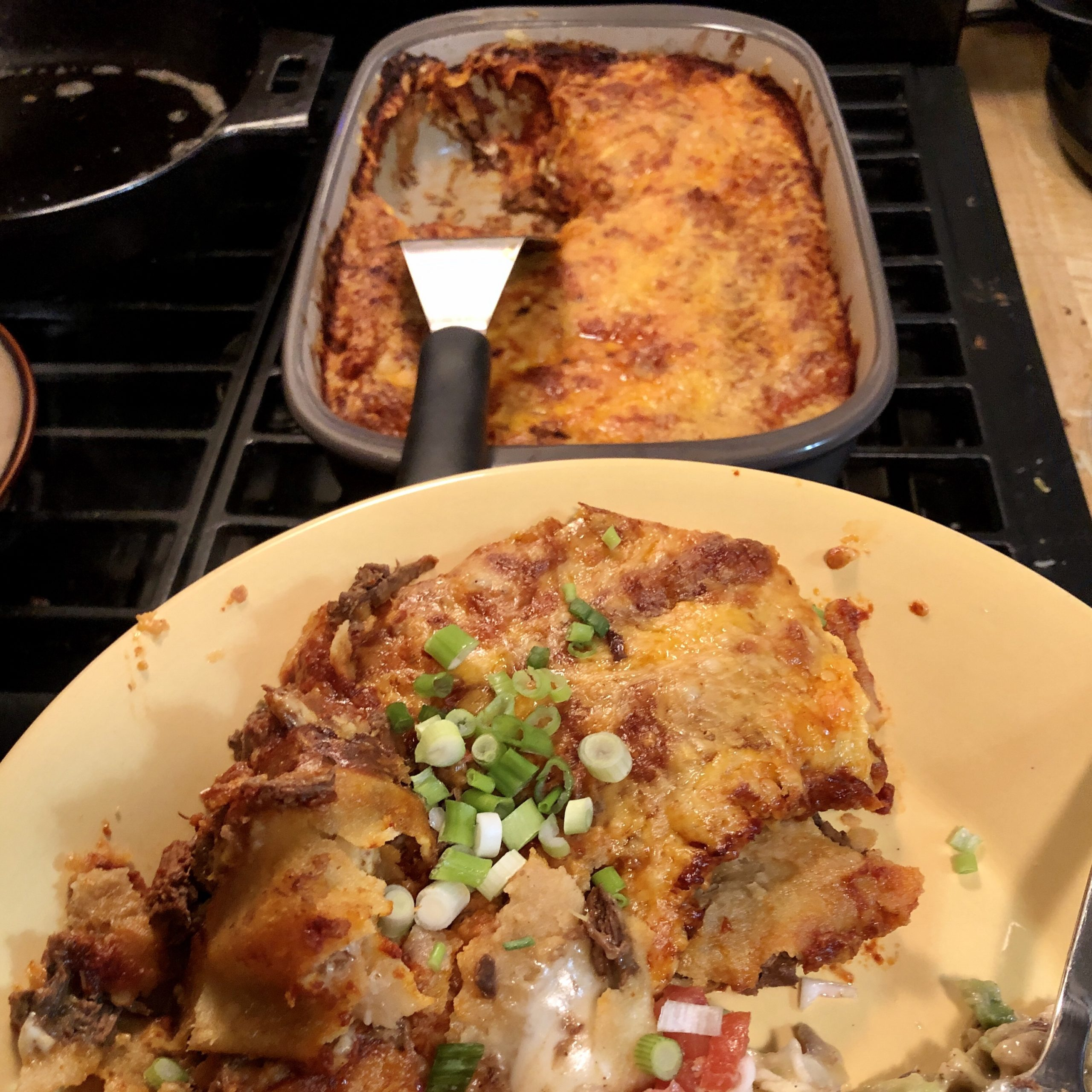 Wild Game Enchiladas
