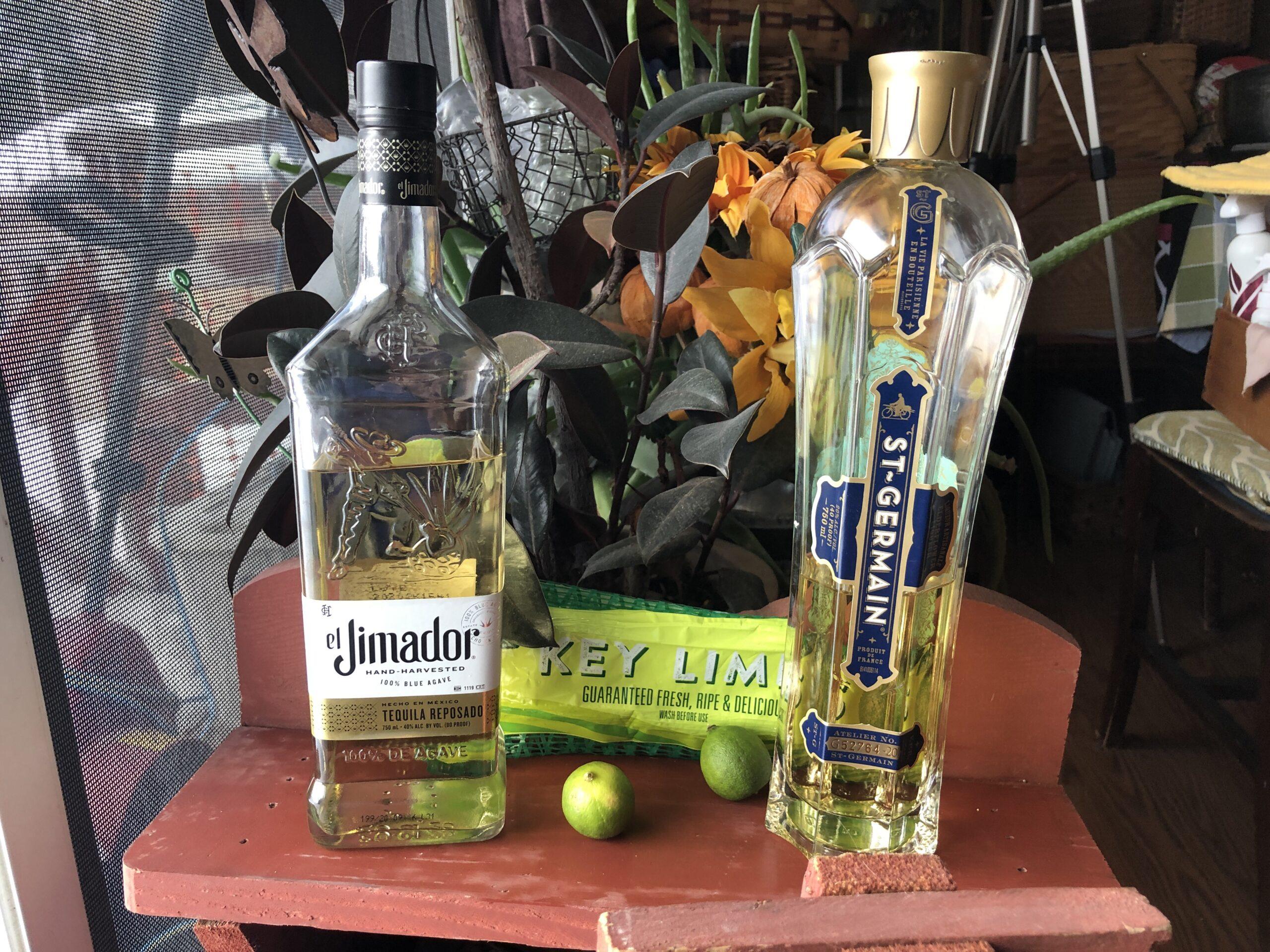 Key Lime & Elderflower Margarita