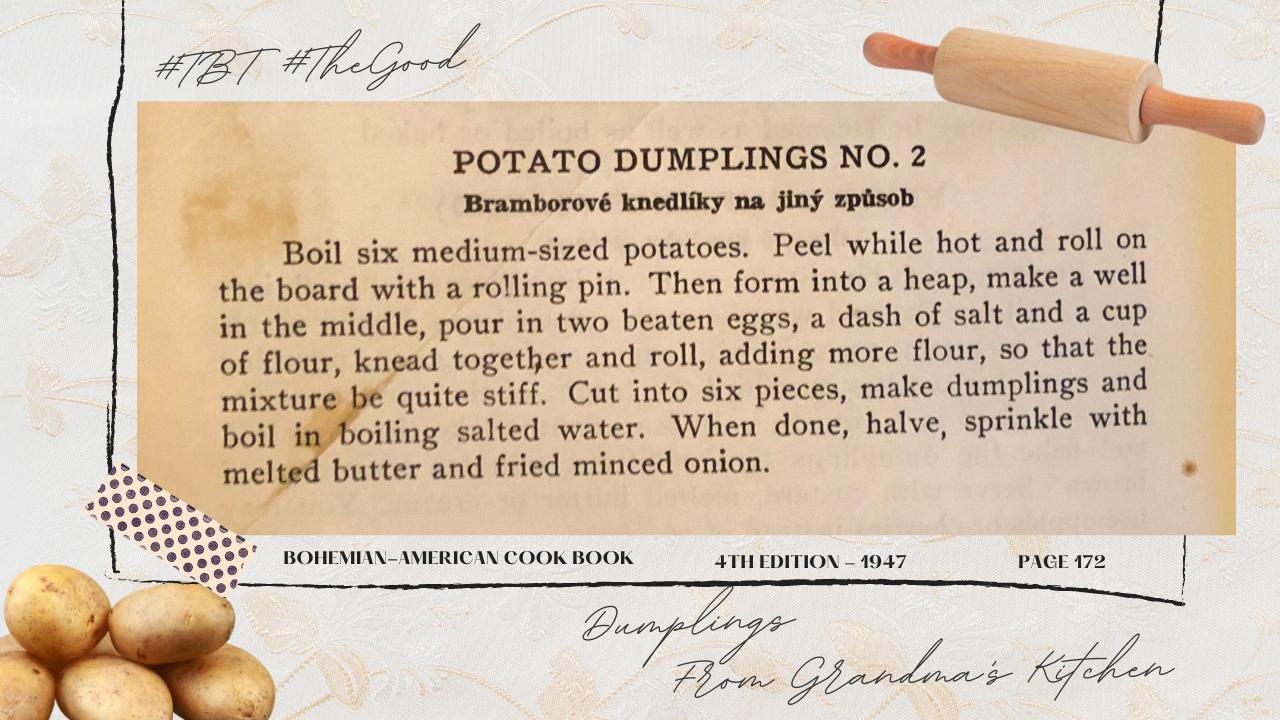 Potato Dumplings No. 2