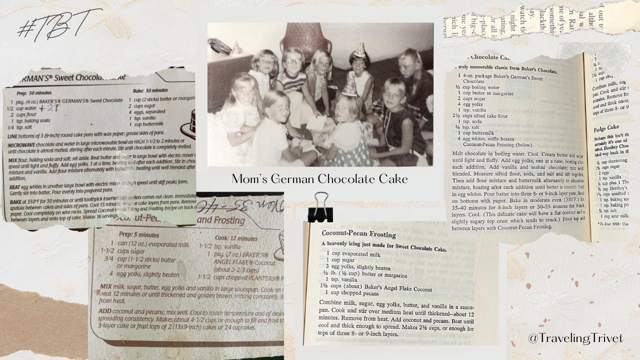 Mom's German Chocolate Cake