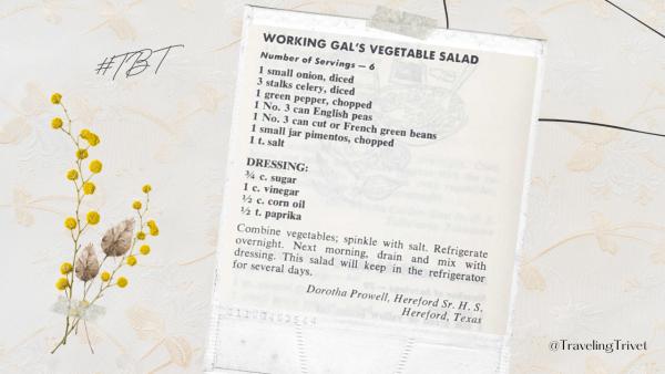 Working Gal's Vegetable Salad