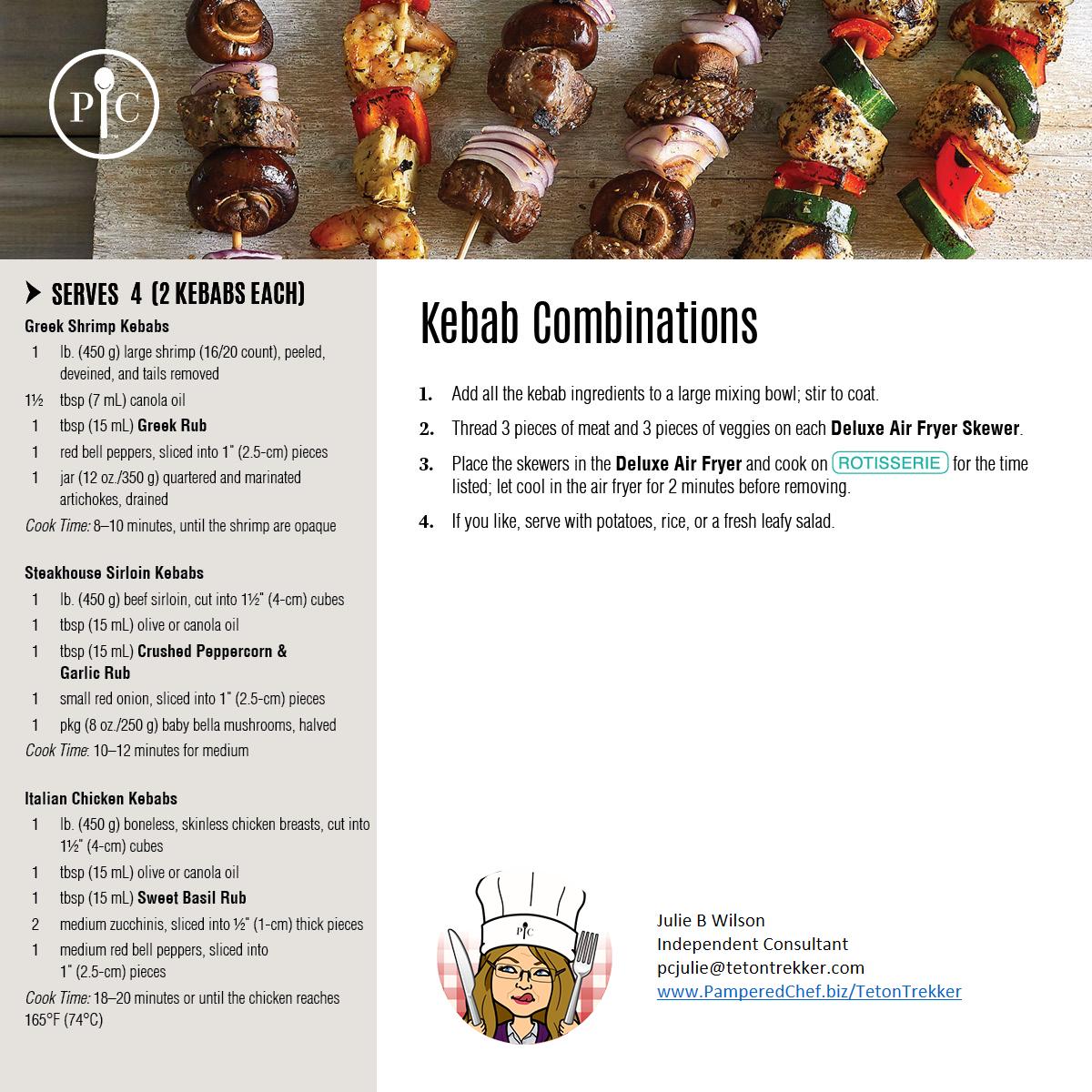 Kebab Combinations
